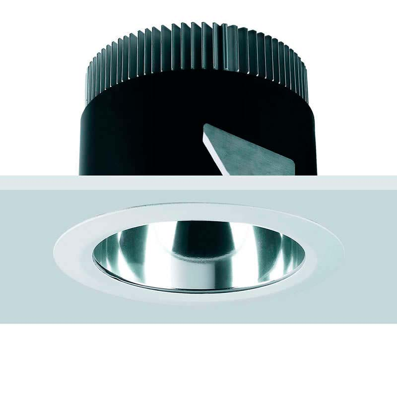 Downlight Led ZANTE 10W, Blanco cálido